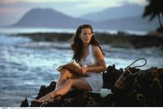 Kate Beckinsale - Love her in Pearl Harbor.( FYI we just took family pictures at this exact spot a few weeks ago! so cool.)