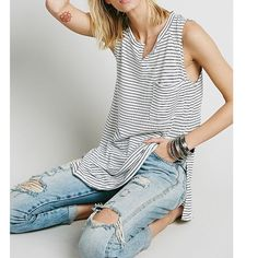 Free People weekend warrior Tank New. Retails for over $58. Instagram: @rubilove  Free People Tops