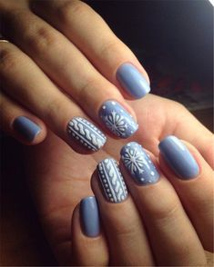 Snowflake Square Winter Nails Ideas Try In 2019 This .- Snowflake Square Winter Nails Ideas Try In 2019 This year naturalness rapidly becomes fashionable in all. We can safely make short snowflake square nails and still be at the height of fashion. Snowflake Nail Design, Snowflake Nails, Christmas Nail Art Designs, Winter Nail Designs, Winter Nail Art, Winter Nails 2019, Autumn Nails, Fruit Nail Designs, Pretty Nail Designs