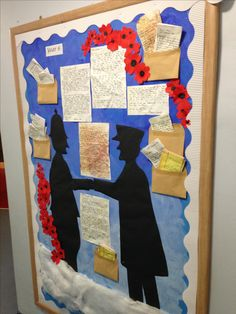 Ww1 Display, Christmas Truce, Weather Display, Nativity, Quilts, Blanket, School, Board, Frame