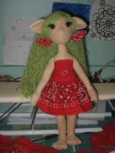 apple poppet  Love the dress idea.