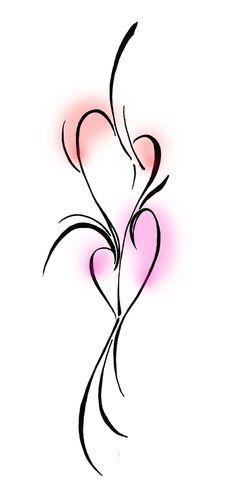 Joined Heart Tattoos | Double Heart Tattoo