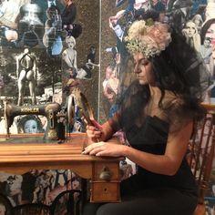 Nel mio show-room adesso... Fotografie @lorefras  Hairdresser @annamadonia  Make-up @lisa_toppi  #moda #fashion #hairdresser #hair #hat #modisteria #cappello #instafashion #Livorno #Italia #madeinitaly #igerslivorno #igerstuscany #instalike #instagood #instafun #acconciatura #fascinator #fascinating #ig
