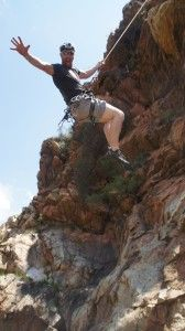 Climbing in the Kings kloof area. Close to Johannesburg