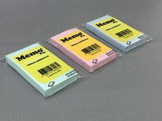 Las notas adhesivas son una solución perfecta siempre que necesitamos anotar las informaciones importantes. Mejoran la organización del trabajo, pueden servir como una lista de compras y como un recordatorio de un evento importante. Personalízalas con MemoFix® así tu marca se multiplica!