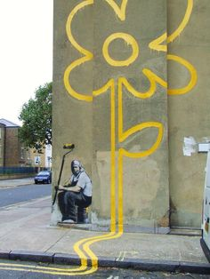 STREET ART UTOPIA » We declare the world as our canvas11 Roadsworth Street Art Photos! - A Collection » STREET ART UTOPIA