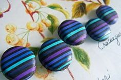 Ollivine Z Creations: How to make a striped cane with polymer clay