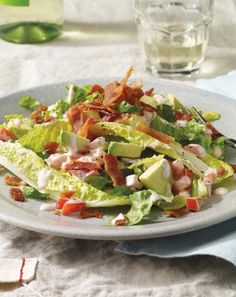 BLT Salad with Avocado ‹ Hello Healthy