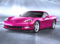 Pink Corvette.
