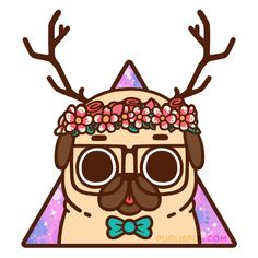 Figure out additional details on pug dogs. Look at our website. Kawaii Drawings, Cute Drawings, Animal Drawings, Pug Wallpaper, Animals And Pets, Cute Animals, Pug Cartoon, Pug Art, Kawaii Art