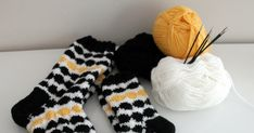 LimeRantu: Marimekon räsymatto villasukat