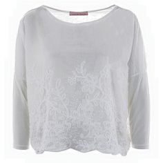 A long sleeve with flower details perfect for a summer night