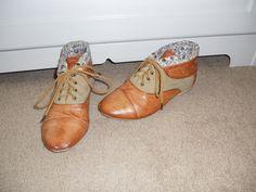 Brown oxford sneakers