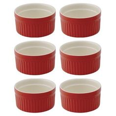 HIC Harold Import Co. 98002RS-HIC Souffle Rose 2 oz Home Decor Products, Red