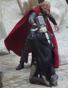 Thor enough | Smackdown: Chris Hemsworth's character Thor gives Malekith a blow to ...