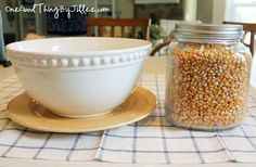 Microwave Popcorn . . . No Bag Required!