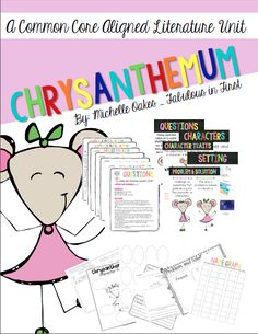 Chrysanthemum: A great back to school book!