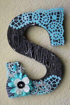 door magnet of your initials