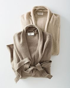 Eileen Fisher Long Eco-Cashmere Robe