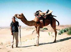 "my sweet camel,""Ratu"",in the desert of Jaisalmer,India"