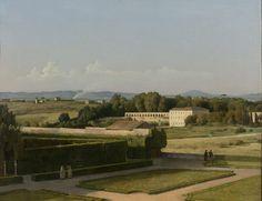 View of the Gardens of Villa Medici, Michel-Martin Drölling, 1811 - 1816 from the Risjkmuseum