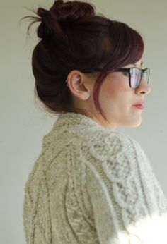 An amazingly cozy cardigan by peneloping.