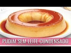 PUDIM SEM LEITE CONDENSADO COM 3 INGREDIENTES - YouTube Sin Gluten, Paleo, Keto, Sem Lactose, Pillsbury, Doughnut, Panna Cotta, Cheesecake, Low Carb