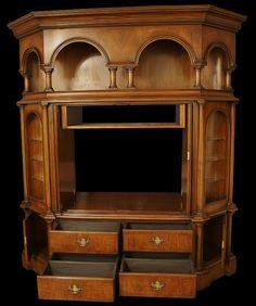 Georgian Style Mahogany Furniture Tv Cupboard, Tv Stand Cabinet, Mahogany Furniture, Cupboards, Georgian, Furniture Design, Home Decor, Style, Armoires