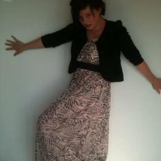 Mé and my dress