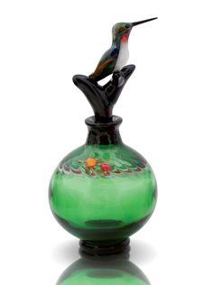 Bird Perfume Bottles by Chris Pantos (Art Glass Perfume Bottles) | Artful Home