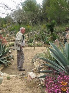Jardín y colección privada de Antonio Diaz