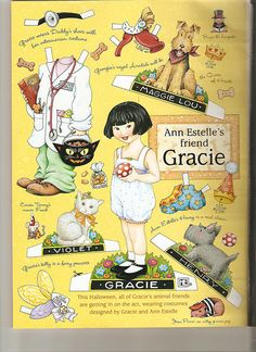 Ann Estelle friend paper doll Gracie 2 by Lagniappe*Too, via Flickr