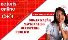 Organização Nacional do Ministério Público – Lei 8625/1993