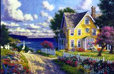 """""""Seaside Village"""" by Randy Van Beek"""
