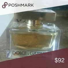 OFFERS ACCEPTED! DOLCE&GABBANA the one This is a BRAND NEW, NEVER USED Dolce&Gabbana (THE ONE) perfume!  Does NOT have the box! Lid has some marks from tape residue 😶 75 ML  (2.5 FL oz) VERY EXPENSIVE PERFUME!!! Dolce & Gabbana Other