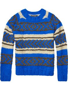 Lurex Jacquard Pullover | Pullovers | Ladies Clothing at Scotch & Soda