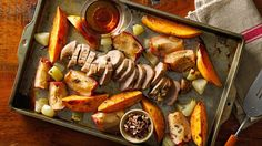 Get all your favorite warming flavors at once with this easy sheet-pan supper.