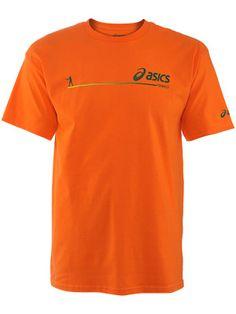 asics orange t shirt