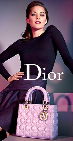 0271285aaac4 Lady Dior bag by Christian Dior. More styles and colours available…