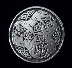 Celtic Epona Horse Button -Set of SIX - Made with Fine Pewter in the USA on Etsy, $13.72 CAD