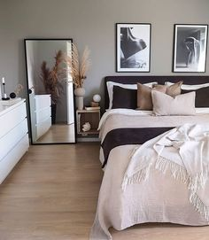 20 tips will help you improve the environment in your bedroom So cozy! decoration salon decoration interieur maison 20 tips will help you improve the environment in your bedroom So cozy! Room Ideas Bedroom, Bedroom Inspo, Dream Bedroom, Home Decor Bedroom, Nordic Bedroom, Bedroom Modern, Modern Room, Modern Living, Master Bedroom