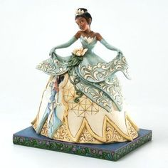Enesco Disney Traditions by Jim Shore Princess and the Frog 'Dreams Do Come True�' - Tiana (Jim Shore) from Fantasies Come True