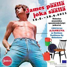 Heinolan museoiden vuoden 2011 kesänäyttelyt olivat täynnä 60- ja 70-lukujen nostalgiaa. Kaupungin museossa näytillä oli Mattilan teollisuuden valmistamia ja kaikkien suomalaisten rakastamia James-merkkivaatteita. Museot eivät kovinkaan innokkaasti ole hyödyntäneet sosiaalista mediaa, mutta Heinolassa asia nähtiin toisin. FlowHouse auttoi kesänäyttelyn markkinoinnissa erityisesti Facebookin osalta ja sivustosta kehkeytyi yksi valtakunnallisen markkinoinnin tärkeimmistä kanavista.