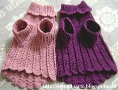 Trendy Ideas For Knitting Projects Animals Dog Sweaters Chat Crochet, Pull Crochet, Diy Crochet, Dog Sweater Pattern, Crochet Dog Sweater, Dog Pattern, Crochet Dog Clothes, Pet Clothes, Knitting Projects