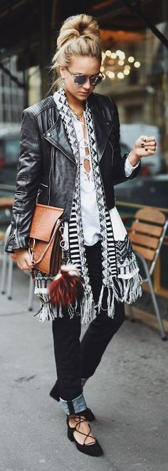 Ethnic Fringed Cardi Fall Inspo