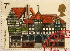 23 April 1975. European Architectural Heritage Year. The Rows, Chester