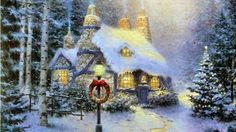 """This is SOLD OUT Artist Thomas Kinkade Dies in Los Gatos  The """"Painter of Light"""" died Friday at the age of 54."""
