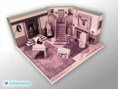 Addams Family TV Series Scale Model -- 0001 Cemetery Lane