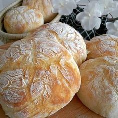 Blitz Quarkbrötchen, quick, easy and super delicious! - Blitz Quarkbrötchen, quick, easy and super delicious! Pork Recipes, Bread Recipes, Low Carb Recipes, Healthy Recipes, Pampered Chef, How To Cook Rice, Cooking Chef, Cooking Pork, German Recipes