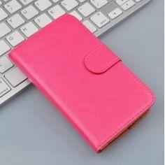 Lenovo A Plus pinkki puhelinlompakko. Zip Around Wallet